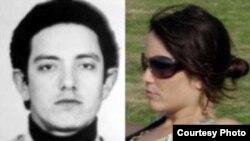 El terrorista chileno Juan Gutiérrez Fischmann y su hija Gabriela, nieta de Raúl Castro. Foto: Cuba al Descubierto.