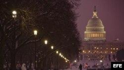 Vista del Capitolio de Estados Unidos, Washington D.C.