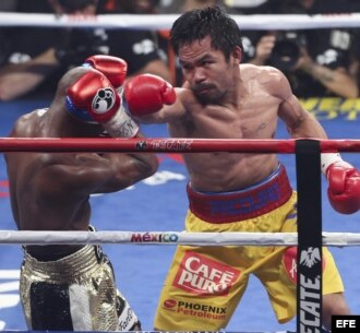 Floyd Mayweather contra Manny Pacquiao