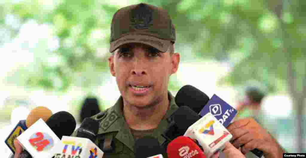 Antonio José Benavides Torres, ex director de Operaciones de la Guardia Nacional.