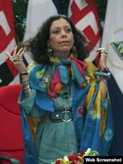 Rosario Murillo, vicepresidenta de Nicaragua y esposa de Daniel Ortega