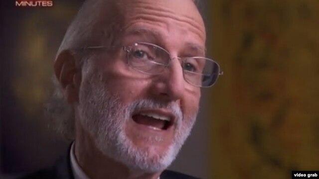 Alan Gross durante una entrevista con CBS sobre su cautiverio en Cuba.