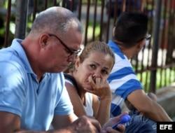Familiares viajaron a La Habana para identificar a víctimas de accidente aéreo.