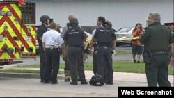 El tiroteo ocurrió en un negocio en un área industrial de la calle Forsyth Road, en Orlando, Florida.