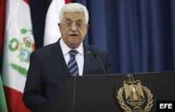 El presidente de la Autoridad Palestina, Mahmud Abas.