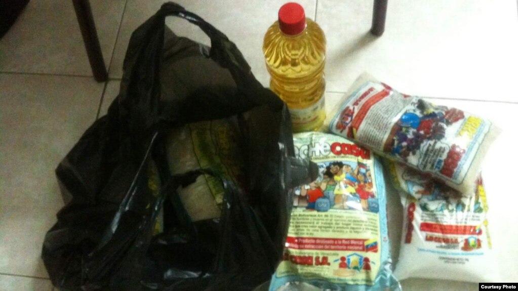 Alimentos para cubanos que laboran en Venezuela