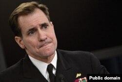 John Kirby, portavoz, Departamento de Estado