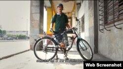 Una imagen del cortometraje Havana Bikes.