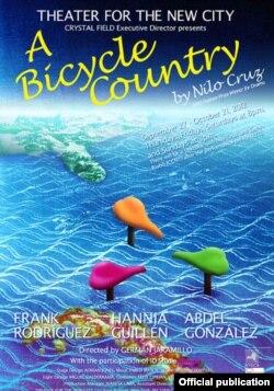"El cartel de ""Un país de bicicleta"""