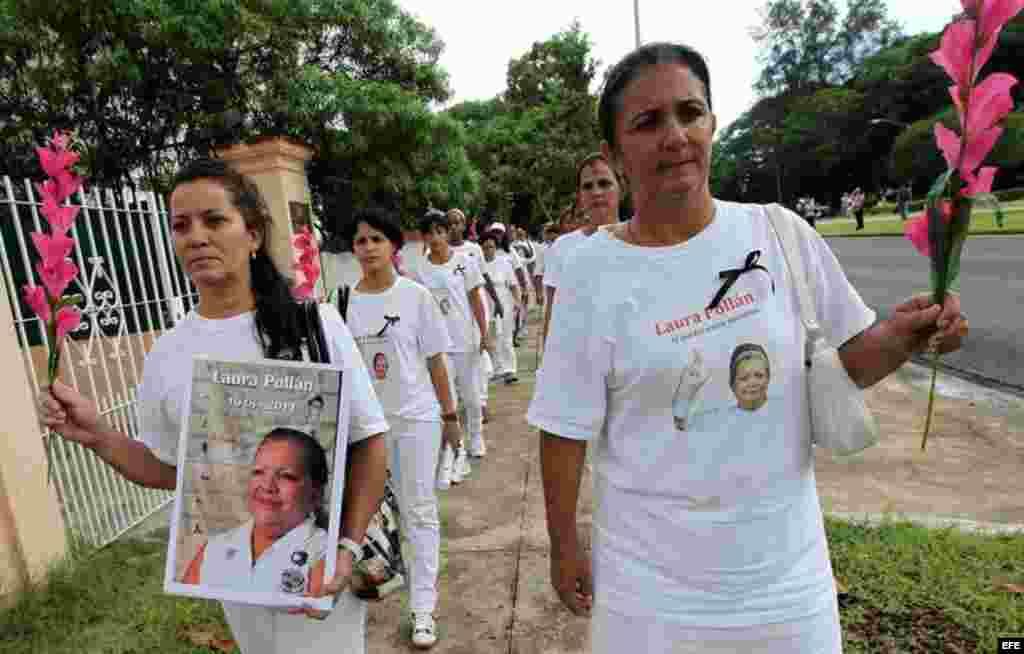 Primer aniversario del fallecimiento de Laura Pollán