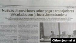 Reporta Cuba. Nuevas disposiciones. @jdanielferrer.