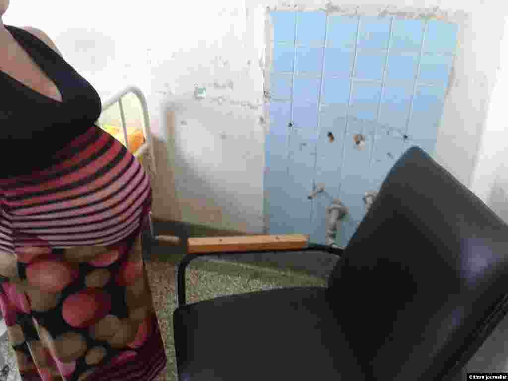 Sala de preparto en hospital habanero Reporta Cuba Foto Steve Maikel