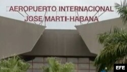 Aeropuerto Internacional José Martí en La Habana.