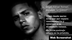 Rapero Ángel Yunier Remón cumple un año en la cárcel