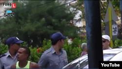 Reporta Cuba. Domingo de represión. Civiles y militares contra la sociedad civil.