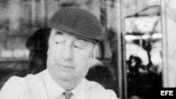 El poeta Pablo Neruda. Foto de archivo