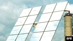 Paneles de energía solar. Archivo.