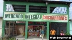 Mercado Integral Chicharrones, en la ciudad de Santiago de Cuba.
