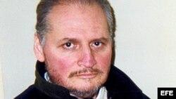 """Imagen de archivo fechada el pasado 3 de marzo del 2004 que muestra al terrorista venezolano Ilich Ramírez, alias """"El Chacal""""."""