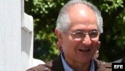 El alcalde de Caracas, Antonio Ledezma, en foto de archivo.