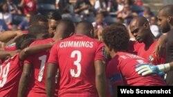 El equipo panameño de fútbol.