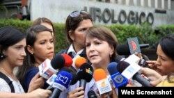 Mirzy Capriles de Ledezma anuncia traslado al hospital de su esposo desde la prisión Ramo Verde