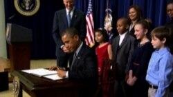 Barack Obama toma acción presidencial en pro del control de armas