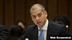 Daniel Sepúlveda, subsecretario adjunto del Departamento de Estado y coordinador para la Política Internacional de las Comunicaciones.