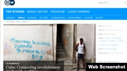 El comentario de Deutsche Welle destaca que nada de lo que Castro prometió a los cubanos se ha cumplido.
