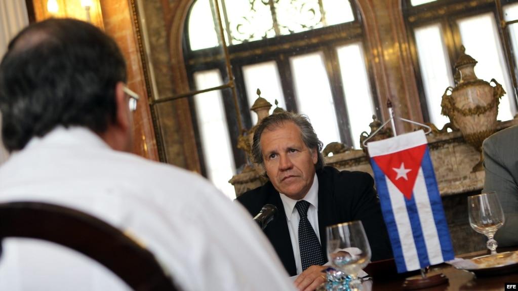 Almagro estuvo en Cuba cuando era canciller de Uruguay. Foto tomada el 18 de febrero de 2013, en La Habana (Cuba).