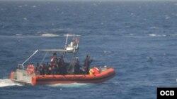 Balseros cubanos, rescatados el 24 de febrero