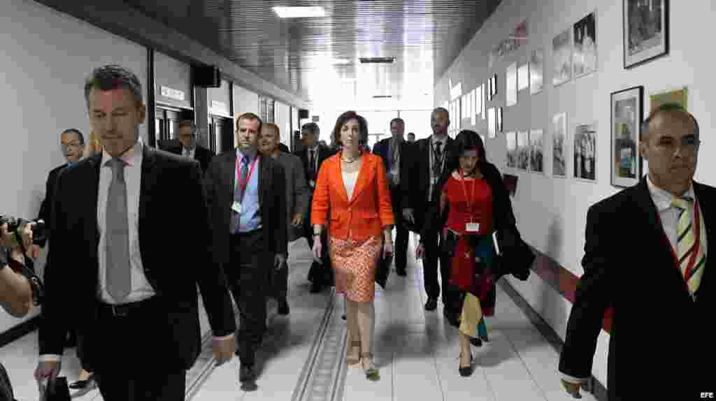 Roberta Jacobson en el Palacio de Convenciones de La Habana.