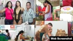 Cuentapropistas cubanos.