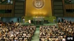 Apertura de la Asamblea General de la ONU que tiene lugar en la sede central de Nueva York.