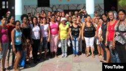 Reporta Cuba Ciudadanas pro Democracia en Santiago de Cuba Foto UNPACU