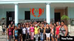 Reporta Cuba Ciudadanas pro Democracia en Santiago de Cuba Noviembre 2014