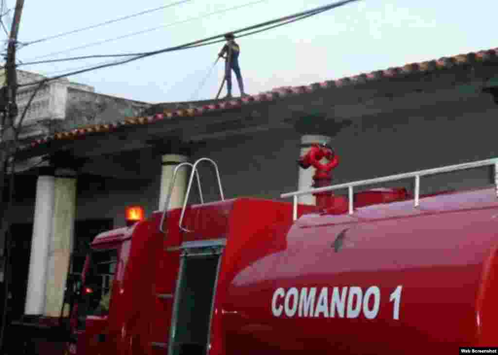 Incendio en Pinar del Río fue sofocado en poco más de una hora.