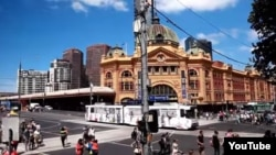 La estación ferroviaria de Flinders Street, uno de los lugares en Melbourne que los terroristas planeaban atacar.