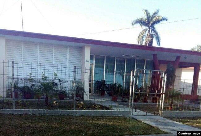 La casa de Brunet Nodarse en Punta Gorda.