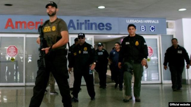 La DEA captura a otro narcochavista venezolano en el aeropuerto de Miami.