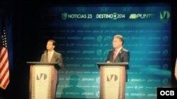 Debate en Miami Dade College entre Joe García y Carlos Curbelo.