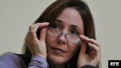Mariela Castro, hija del presidente de Cuba, Raúl Castro, y directora del Centro Nacional de Educación Sexual (CENESEX)