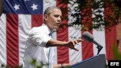 El presidente de Estados Undos, Barack Obama. Foto de archivo.