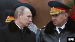 Presidente de Rusia Vladimir Putin (Archivo)