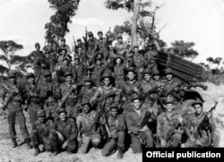 Tropas cubanas en Africa.