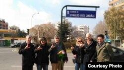 Homenaje a Oswaldo Payá en Madrid.