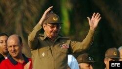 Fotografía de archivo de Raúl Castro. EFE/Alejandro Ernesto