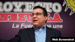 Carlos Berrizbeitia, diputado opositor venezolano.
