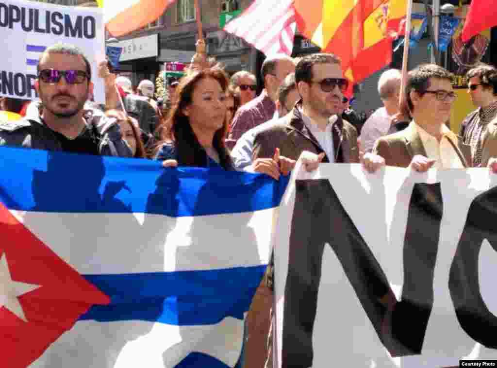 Iliana Hernández, invitada a manifestación contra Podemos en Madrid