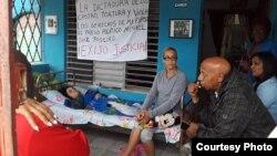 Arianna López realizó otra huelga de hambre en enero (Archivo)